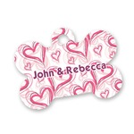 Valentine's Day Bone Shaped Dog Tag (Personalized)