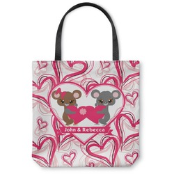 Valentine's Day Canvas Tote Bag (Personalized)