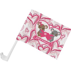 Valentine's Day Car Flag (Personalized)