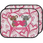 Valentine's Day Car Floor Mats (Back Seat) (Personalized)