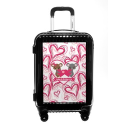 Valentine's Day Carry On Hard Shell Suitcase (Personalized)