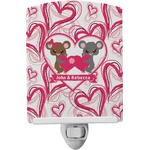 Valentine's Day Ceramic Night Light (Personalized)