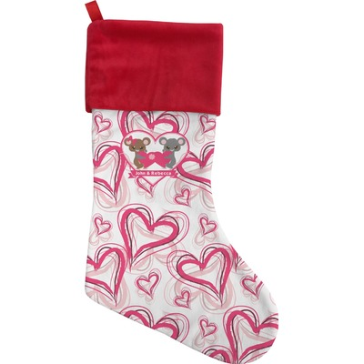 Valentine's Day Christmas Stocking (Personalized)