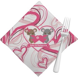 Valentine's Day Napkins (Set of 4) (Personalized)