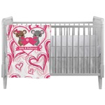 Valentine's Day Crib Comforter / Quilt (Personalized)