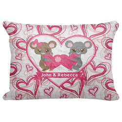"Valentine's Day Decorative Baby Pillowcase - 16""x12"" (Personalized)"