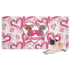 Valentine's Day Pet Towel (Personalized)