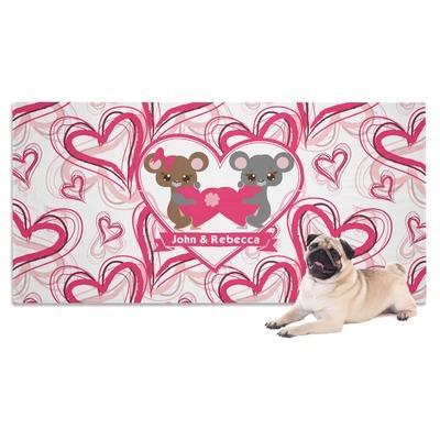 Valentine's Day Dog Towel (Personalized)