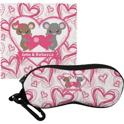 Valentine's Day Eyeglass Case & Cloth (Personalized)