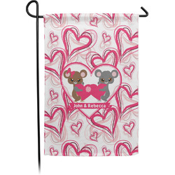Valentine's Day Garden Flag - Single or Double Sided (Personalized)