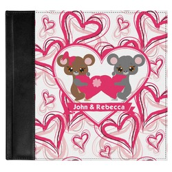 Valentine's Day Genuine Leather Baby Memory Book (Personalized)