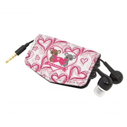 Valentine's Day Genuine Leather Cord Wrap (Personalized)