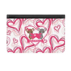 Valentine's Day Genuine Leather ID & Card Wallet - Slim Style (Personalized)