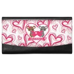 Valentine's Day Genuine Leather Ladies Wallet (Personalized)
