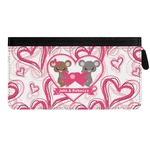 Valentine's Day Genuine Leather Ladies Zippered Wallet (Personalized)