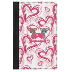 Valentine's Day Genuine Leather Passport Cover (Personalized)