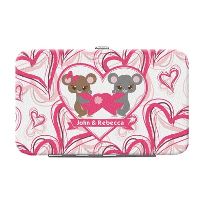 Valentine's Day Genuine Leather Small Framed Wallet (Personalized)