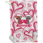 Valentine's Day Golf Towel - Full Print (Personalized)