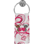 Valentine's Day Hand Towel - Full Print (Personalized)