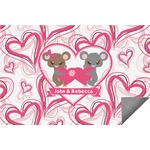 Valentine's Day Indoor / Outdoor Rug (Personalized)