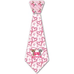 Valentine's Day Iron On Tie (Personalized)