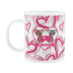 Valentine's Day Plastic Kids Mug (Personalized)