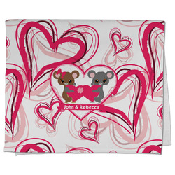 Valentine's Day Kitchen Towel - Full Print (Personalized)