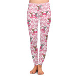 Valentine's Day Ladies Leggings (Personalized)