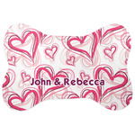 Valentine's Day Bone Shaped Dog Food Mat (Personalized)