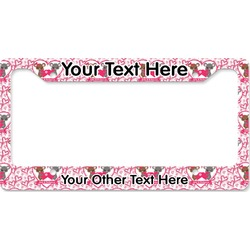 Valentine's Day License Plate Frame (Personalized)