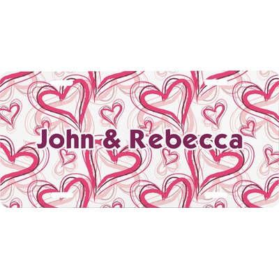 Valentine's Day Front License Plate (Personalized)