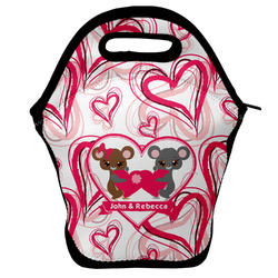 Valentine's Day Lunch Bag w/ Couple's Names