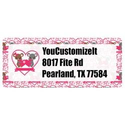 Valentine's Day Return Address Labels (Personalized)