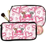 Valentine's Day Makeup / Cosmetic Bag (Personalized)