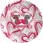 Valentine's Day Melamine Plate (Personalized)