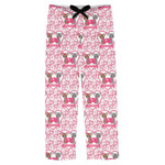 Valentine's Day Mens Pajama Pants (Personalized)