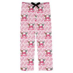 Valentine's Day Mens Pajama Pants (Personalized)