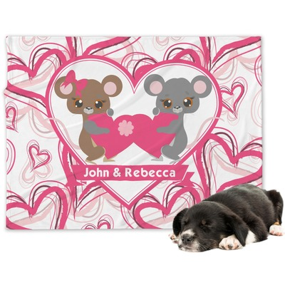 Valentine's Day Dog Blanket (Personalized)
