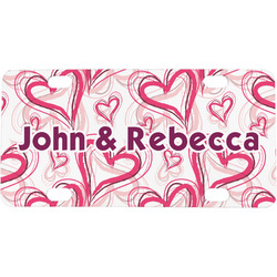 Valentine's Day Mini / Bicycle License Plate (Personalized)