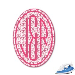 Valentine's Day Monogram Iron On Transfer (Personalized)
