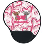 Valentine's Day Mouse Pad with Wrist Support