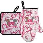 Valentine's Day Oven Mitt & Pot Holder (Personalized)
