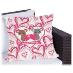 Valentine's Day Outdoor Pillow (Personalized)