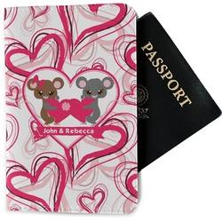 Valentine's Day Passport Holder - Fabric (Personalized)