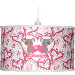 Valentine's Day Drum Pendant Lamp (Personalized)