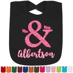 Valentine's Day Baby Bib - 14 Bib Colors (Personalized)