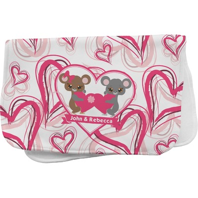 Valentine's Day Burp Cloth (Personalized)