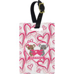 Valentine's Day Rectangular Luggage Tag (Personalized)