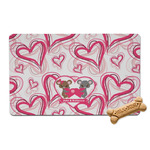 Valentine's Day Pet Bowl Mat (Personalized)