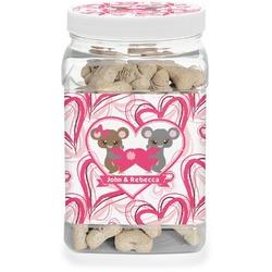Valentine's Day Pet Treat Jar (Personalized)